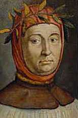 Tuscan poet and literary figure Petrarch