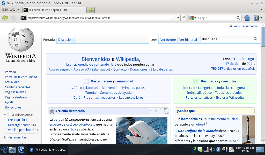 Screenshot IceCat 4.0 von commons.wikimedia.org