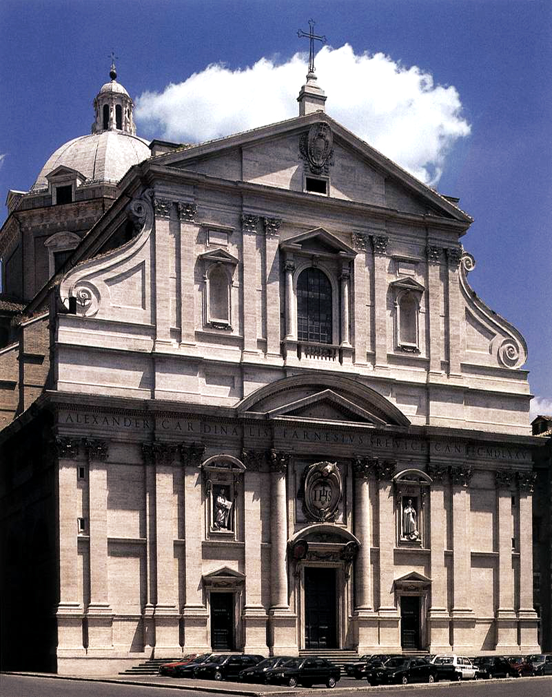 The Church of the Holy Name of Jesus, the main Jesuit church in Rome.