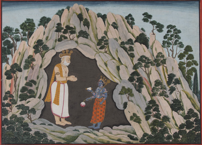 Vishnu and Muchukunda.Image,jpg