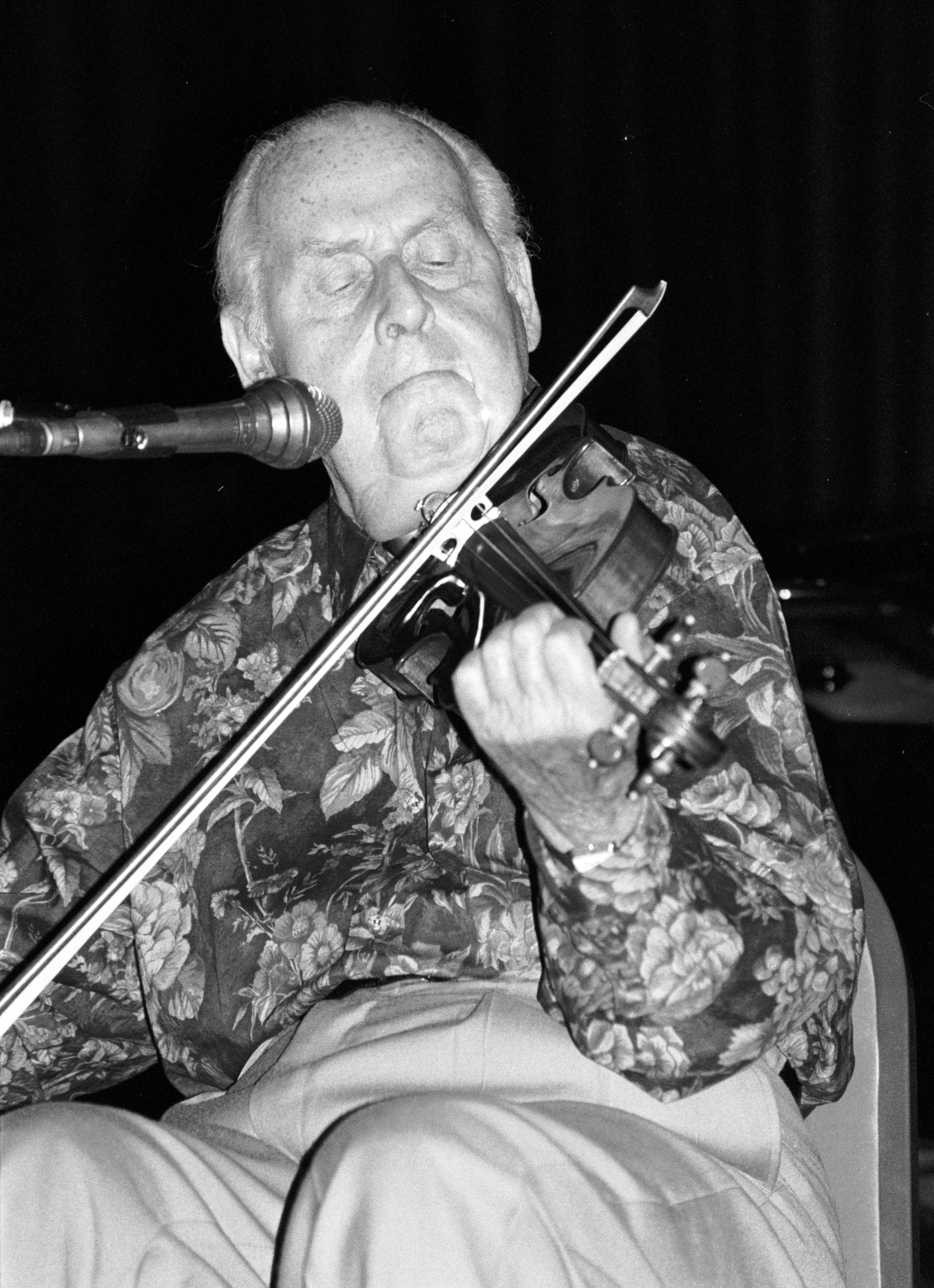 Stephane Grappelli - violinist