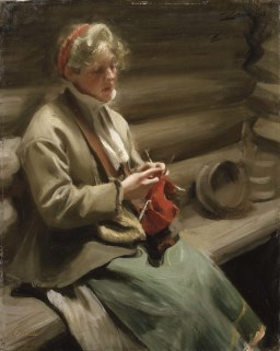 Stickande kulla av Anders Zorn 1901