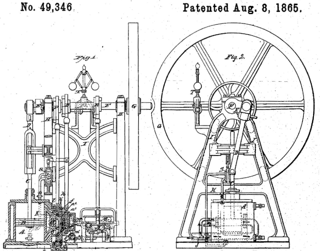 File Hugon Vertical Engine From Us Patent
