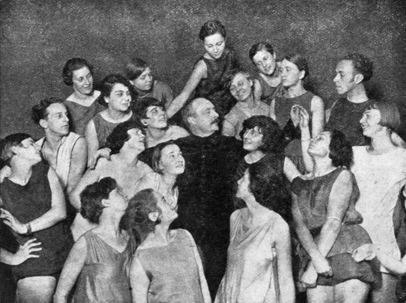 Das Tanz Archiv Rudolf Von Laban