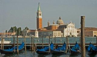 Venedig san giorgio maggiore O Sestiere de São Marco e ilha de San Giorgio