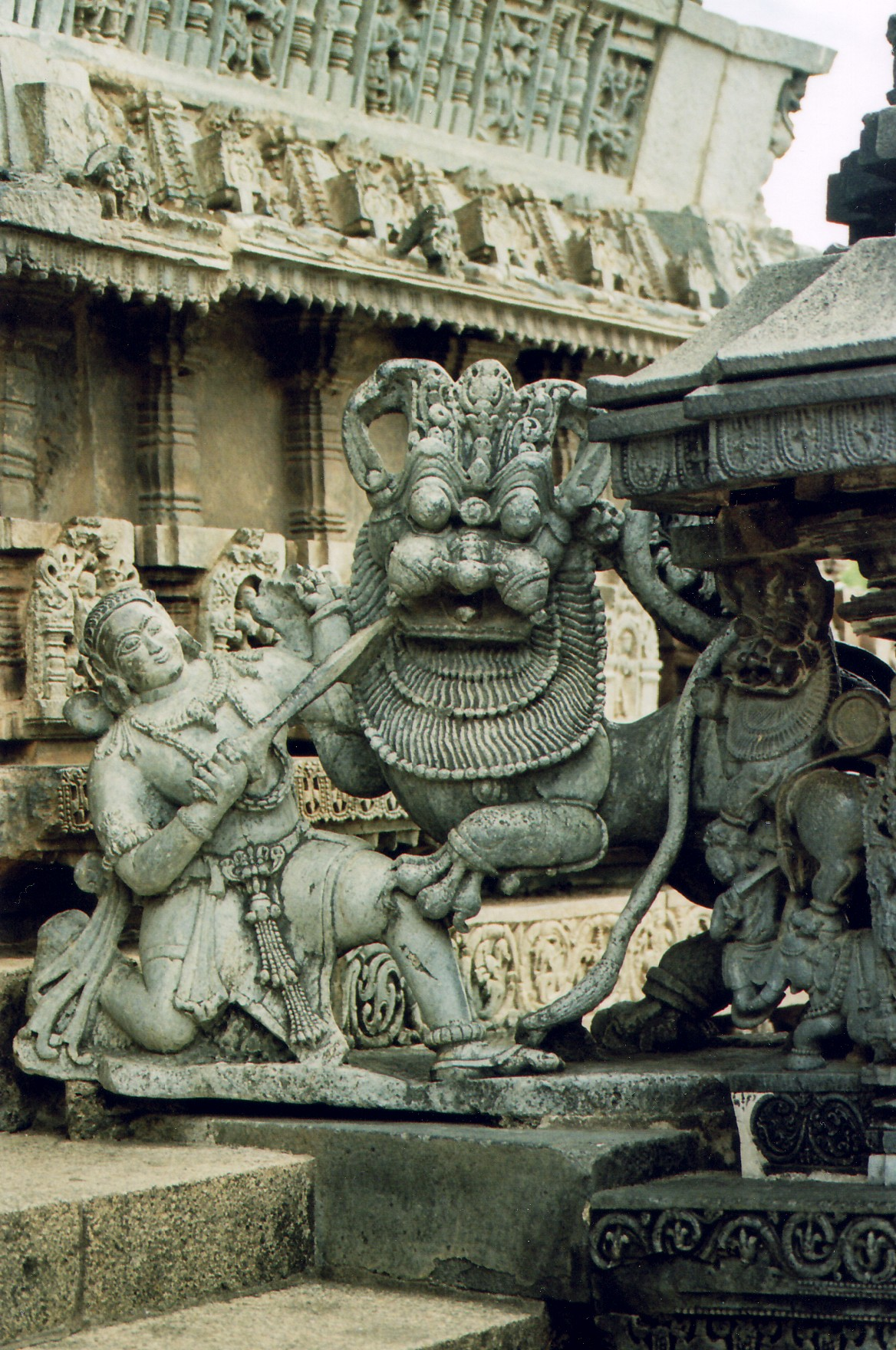 Chennakesava Temple in Belur, Karnataka, India.