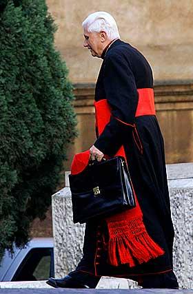 Joseph Ratzinger as Cardinal