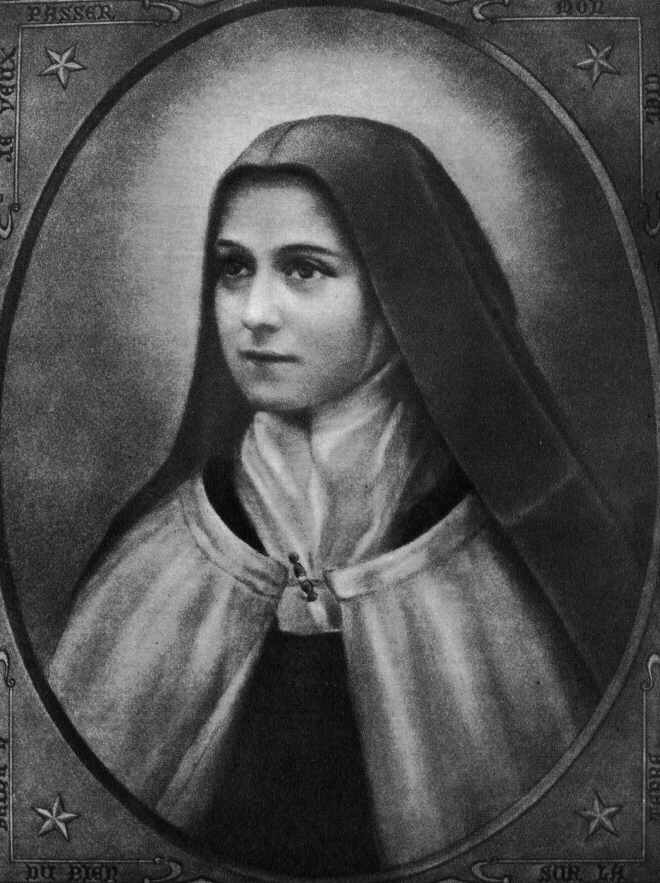 St. Therese of Lisieux from Wikipedia - the most recent Doctor and 1 of 3 women Doctors