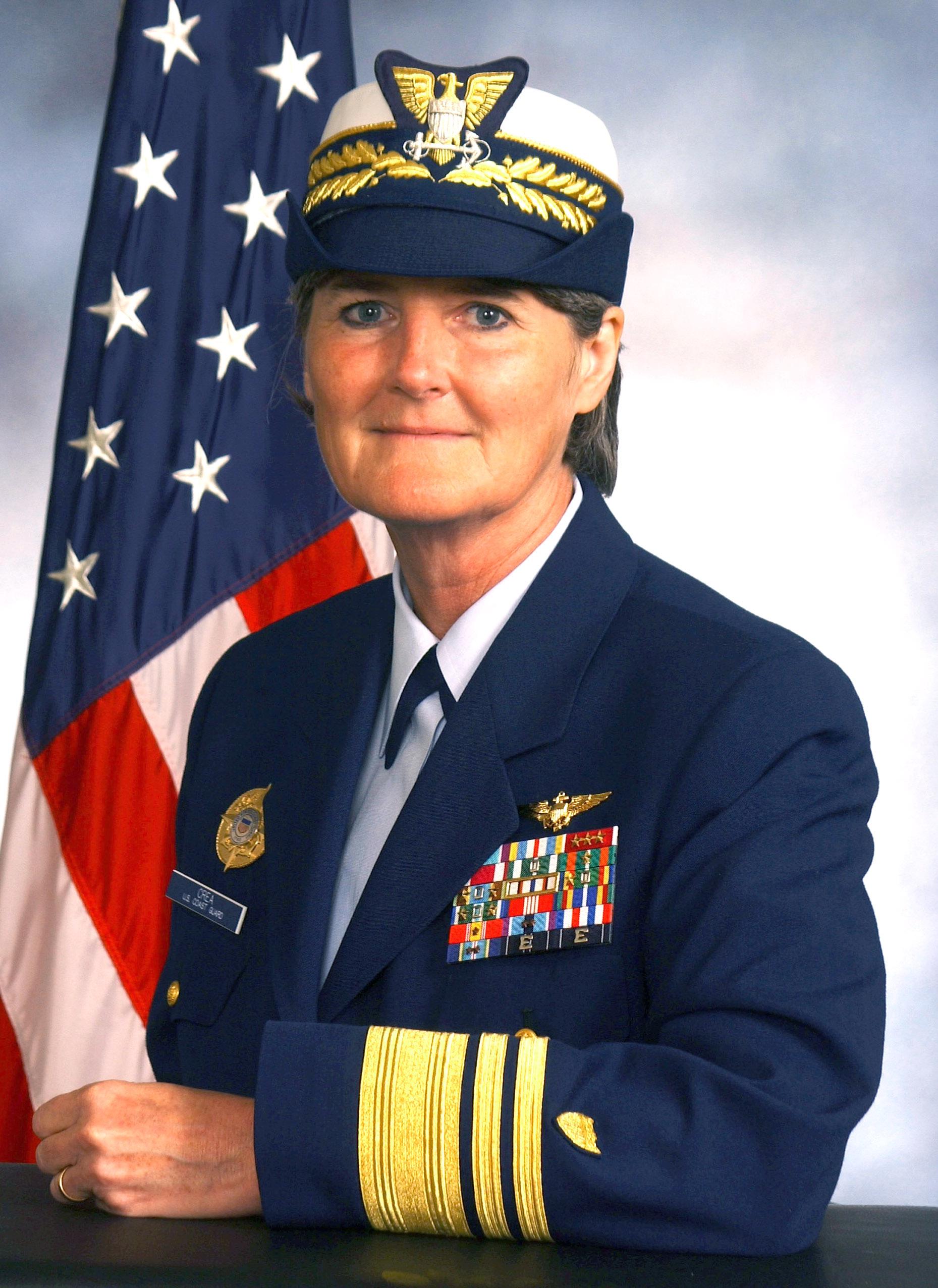 Vivien S Crea Coast Guardswomen