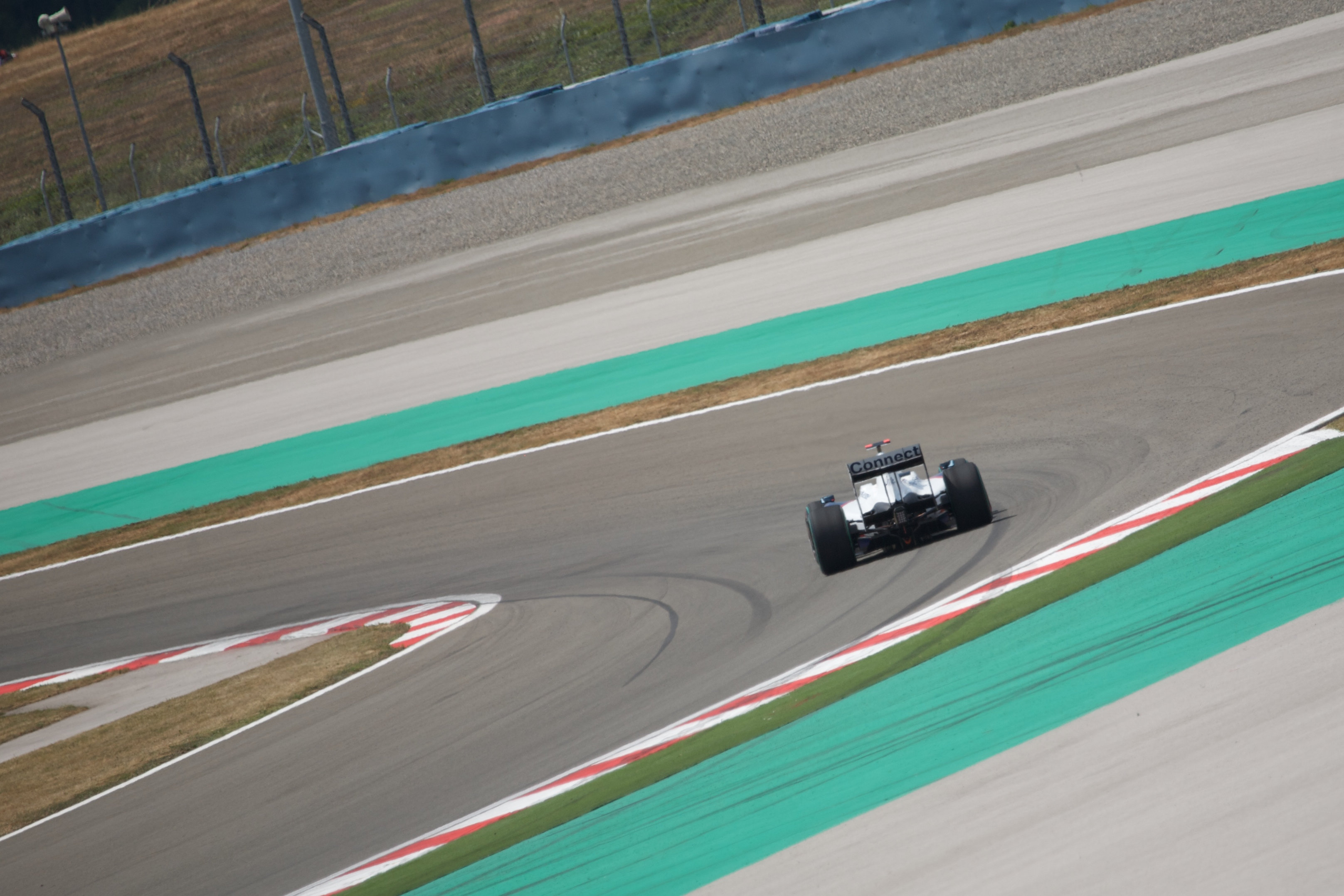 Robert Kubica driving for BMW Sauber at the 20...