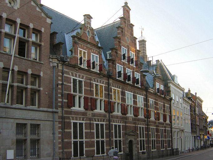 Hoogheemraadschapshuis in Leiden