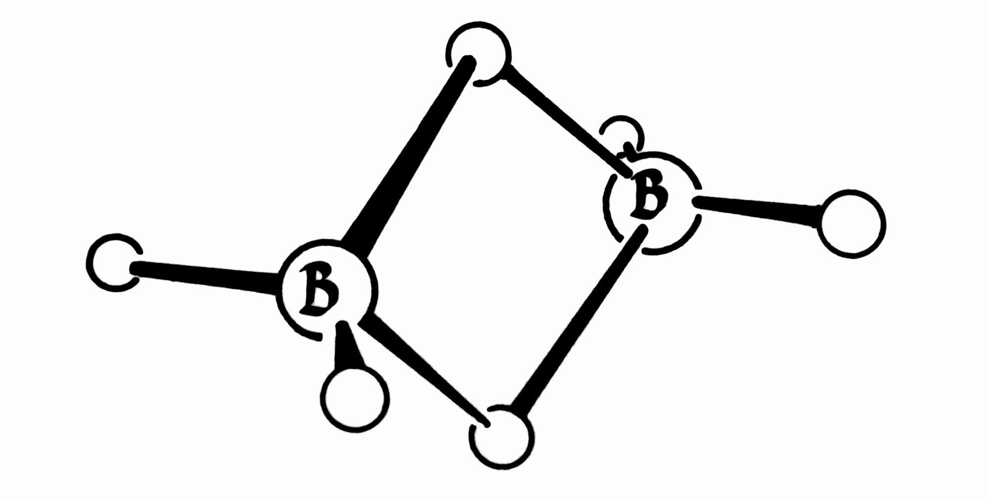 File Lipscomb Diborane B2h6 Atomic Diagram