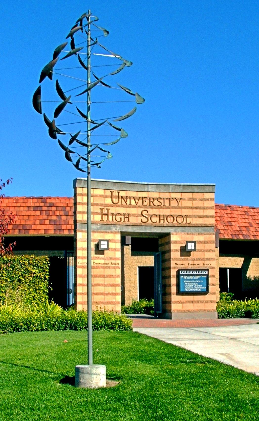 University High, Irvine, Ca - Entrance.jpg