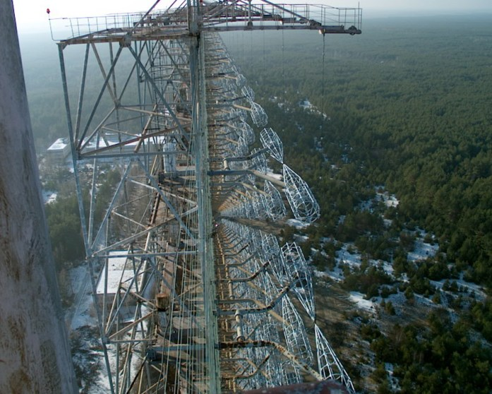 Radar Duga-3 en Chernobyl2 - Copyright Wikipedia