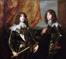 Charles Louis, Elector Palatine and his Brother, Rupert, Prince of the Palatinate
