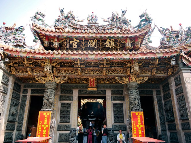 Chenlen Temple, Taiwan, dedicated to the goddess Mazu