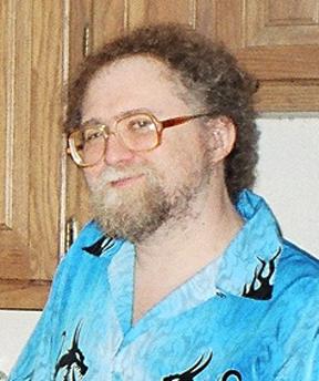 Aaron Allston at the Deadbacks wrap party, Aus...