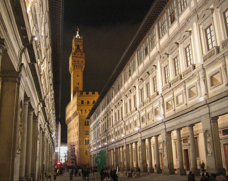 Florence was one of the most important city-states in Italy.