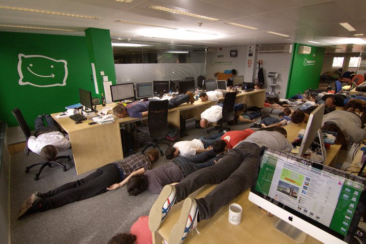 Office planking