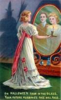 An early 20th century Hallowe'en greeting card