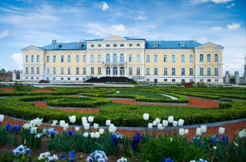 Rundale Castle in Latvia