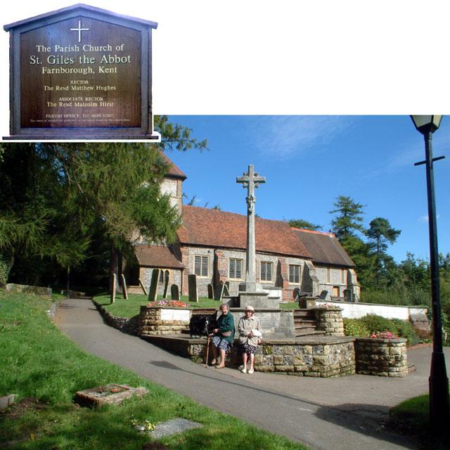 File:St Giles Church, Farnborough, Kent BR6 - geograph.org.uk