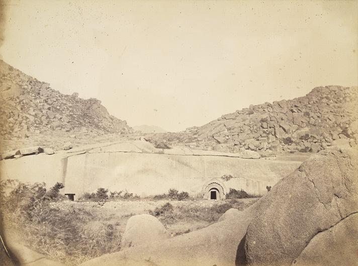 File:Sudama and Lomas Rishi Caves at Barabar, Bihar, 1870.jpg