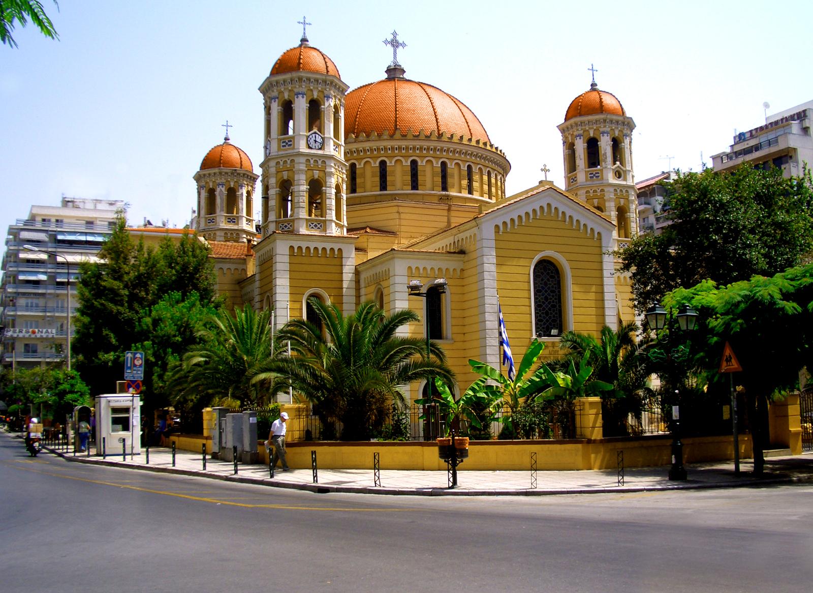 Biserica unde se află moaştele Sfântului Grigorie Palama