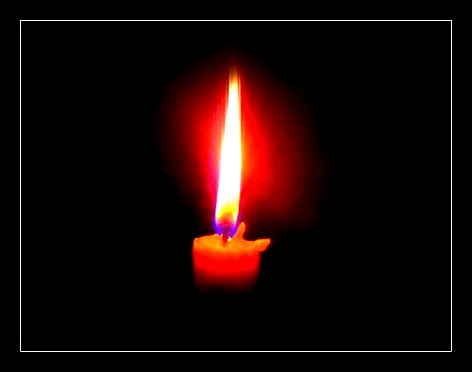 Candle Memorial For Deceased Wikipedians