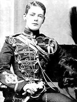 Young Winston Churchill as a Subaltern in the ...
