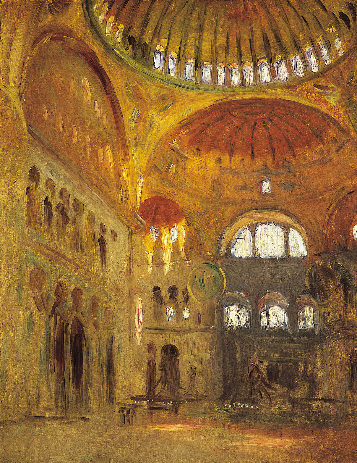 File:Interior of the Hagia Sophia.jpg