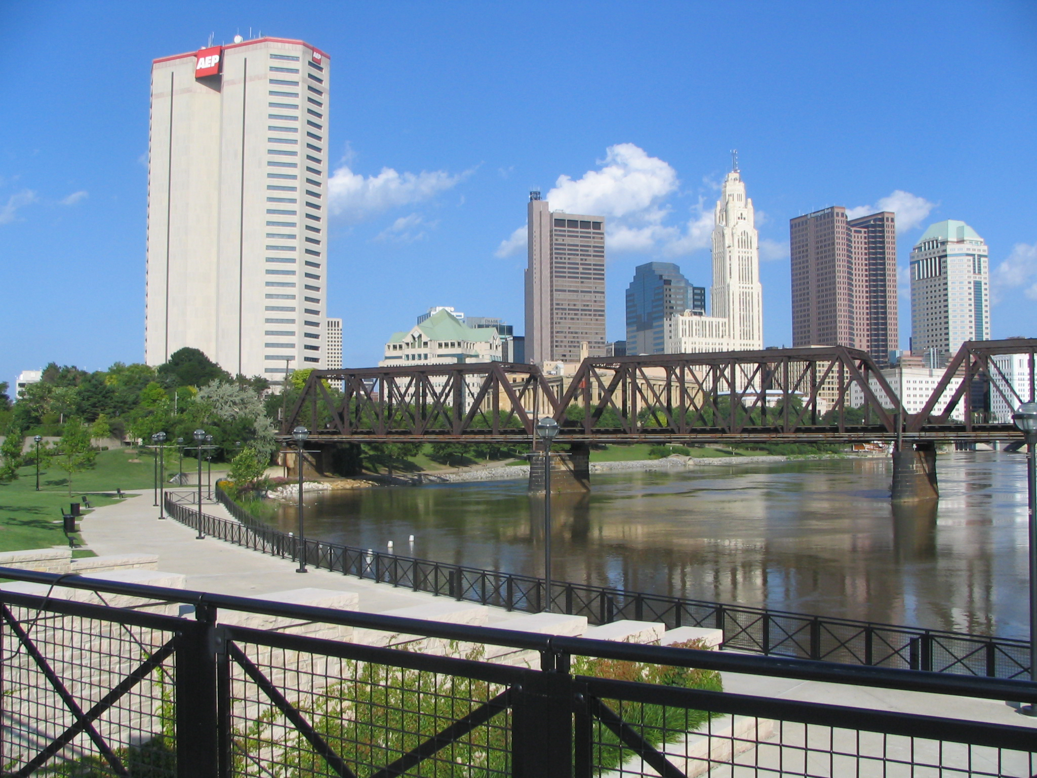 Columbus, Ohio, one of several cities approving parks funding