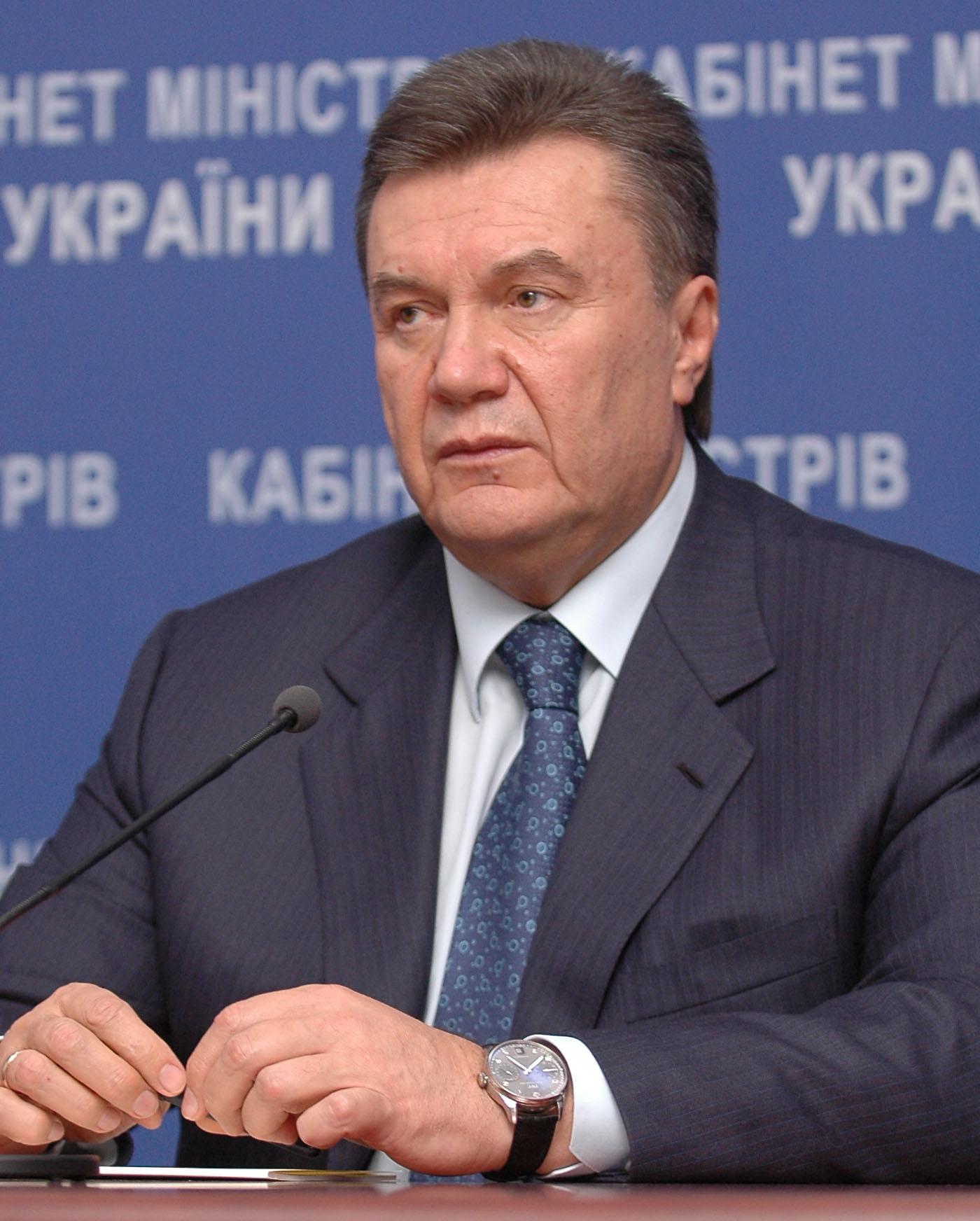 English: Viktor Yanukovich Français : Viktor I...