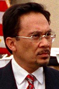 Malaysian Deputy Prime Minister Anwar bin Ibra...
