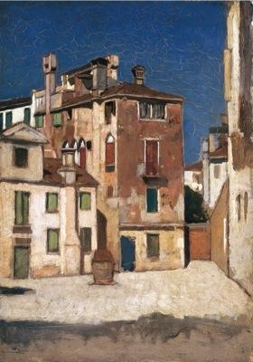 Venezia, ol/tv, cm 20,1x19,5 Coll. privata