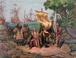 קולומבוס מגלה את אמריק