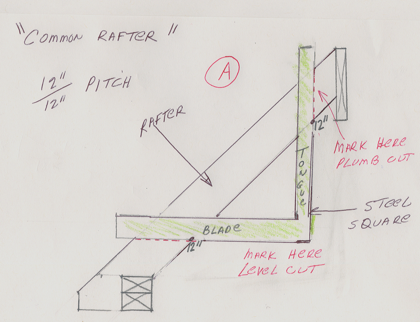 File Common Rafter Layout
