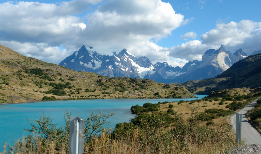 Paine River. Driving Beside Rio Paine, Torres del Paine National Park, Chile-surreal places to visit-2