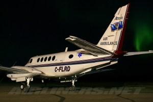 File:Beech A100 King Air, Alberta Air Ambulance AN1211385