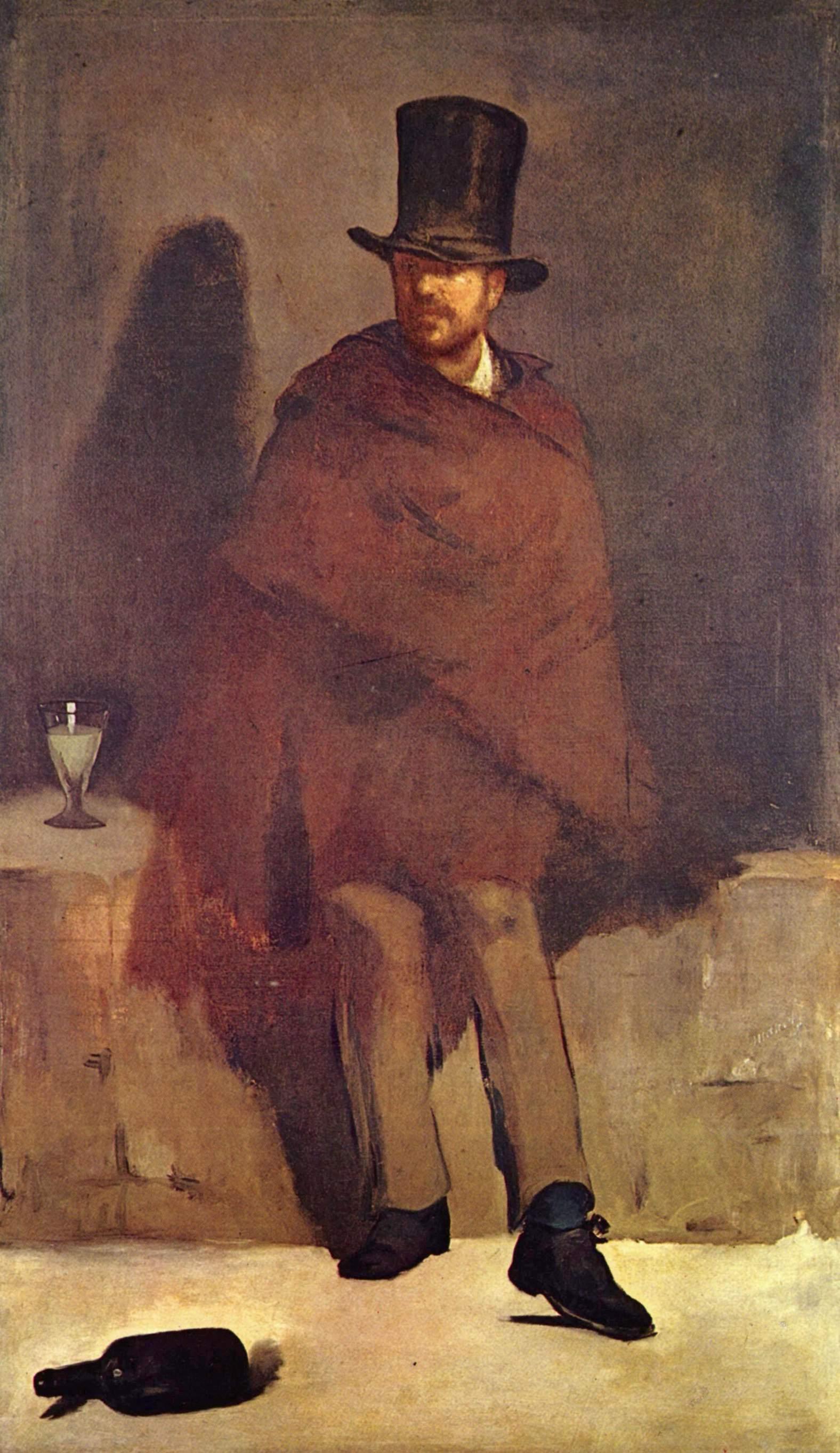 O Bebedor de absinto (Manet) – Wikipédia, a enciclopédia livre