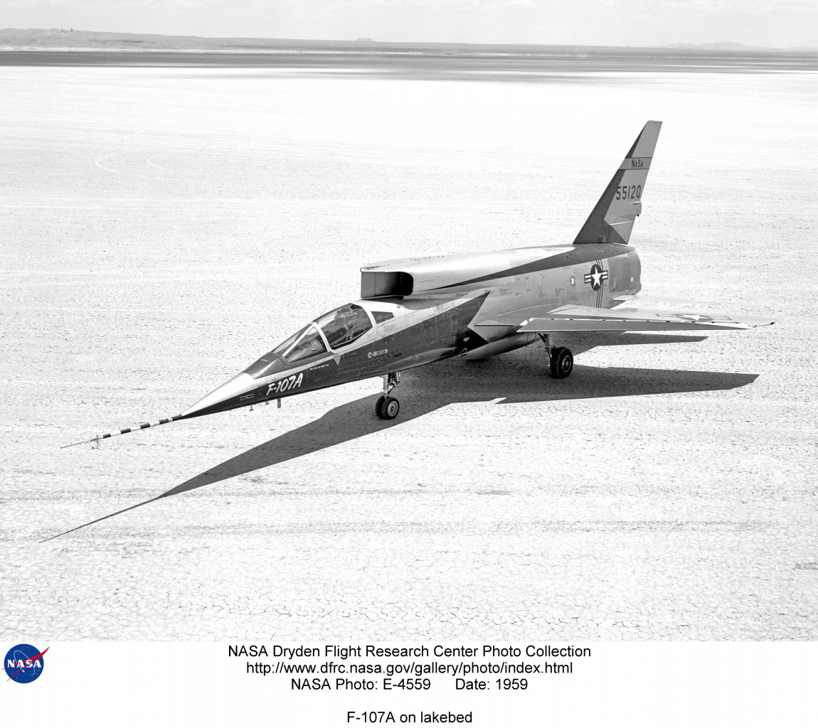 North American Yf 107 Ultra Sabre