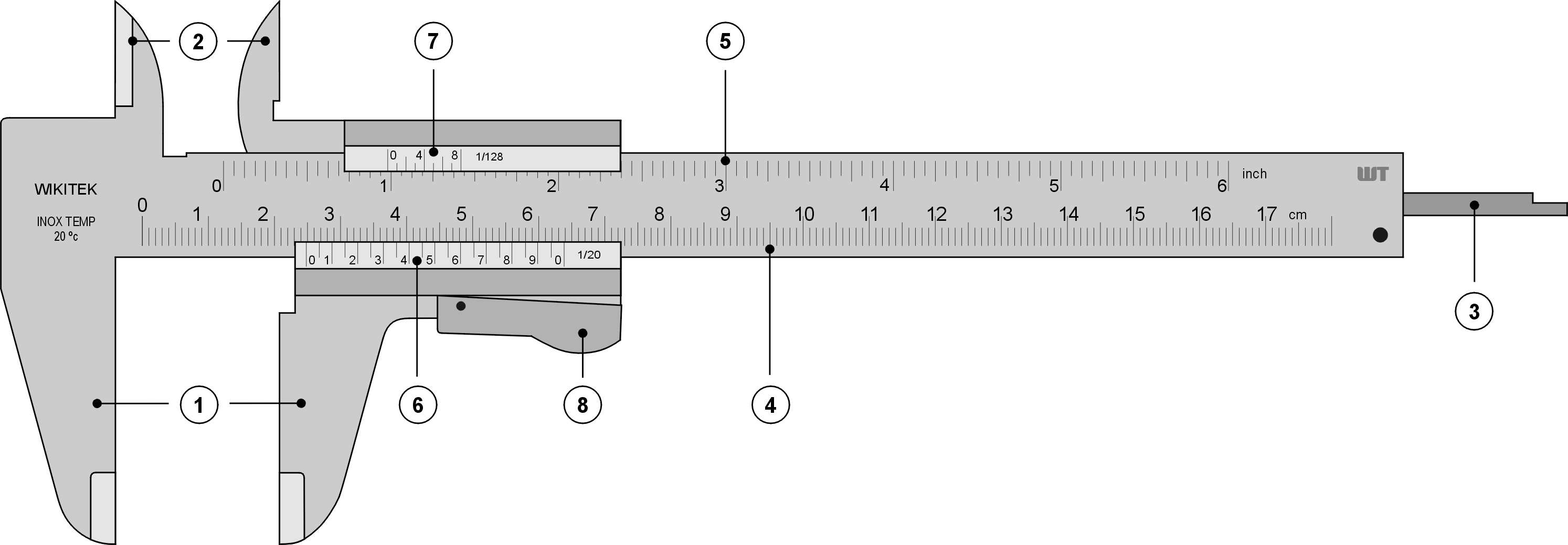 Reading Vernier Calipers Practice Worksheet
