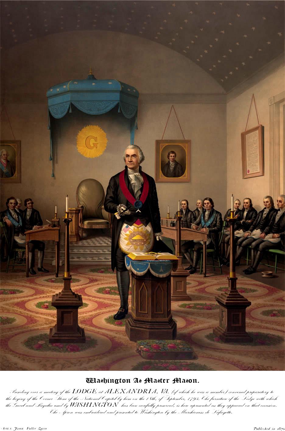 George Washington Master Mason