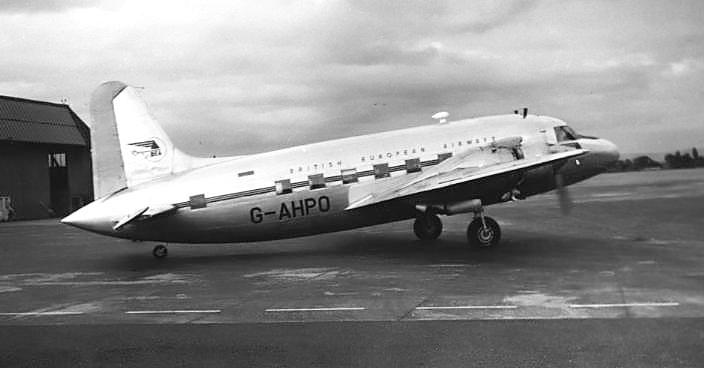 BEA Vickers Viking 1B G-AHPO