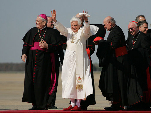 Papst Benedikt XVI. in den USA 2008, Public Domain