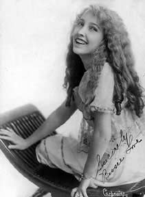 A publicity picture of actress Bessie Love