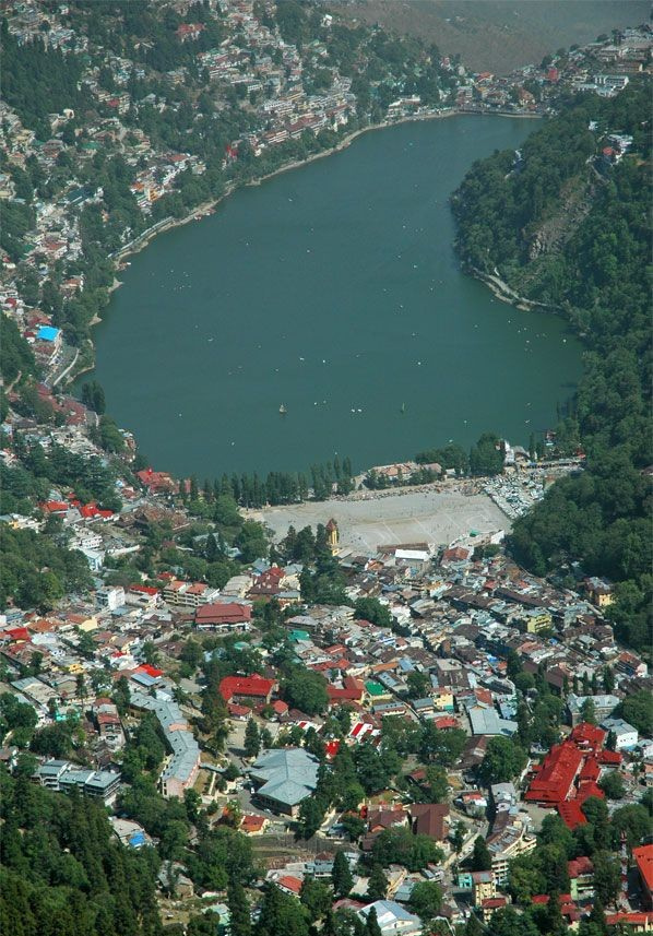 View of Nainital Lake City