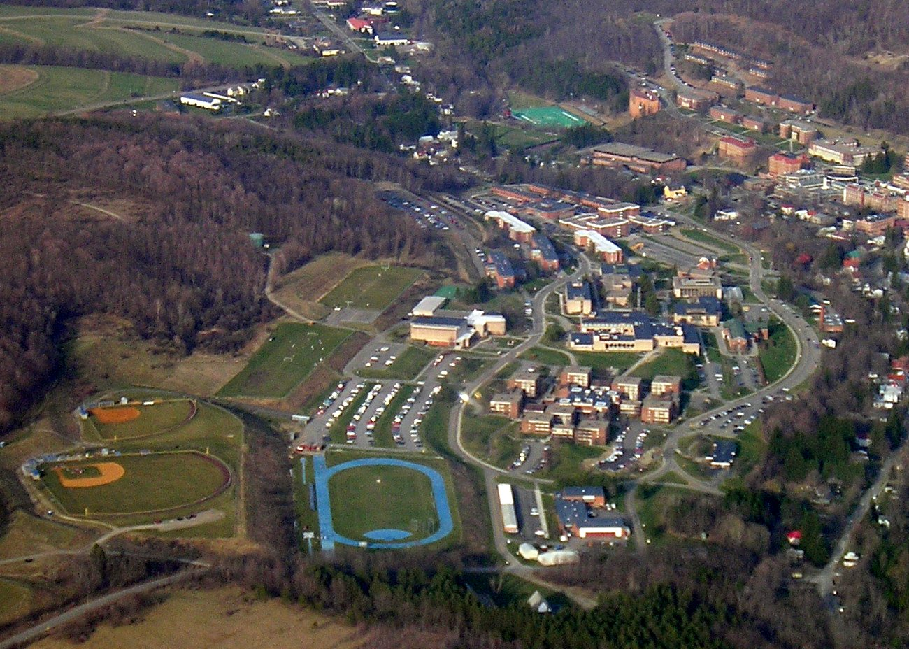 Athens New York Aerial Images