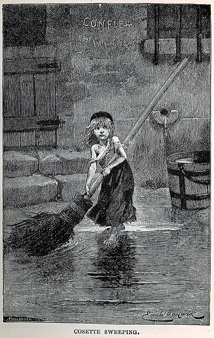 Original Les Miserables cover (1862)