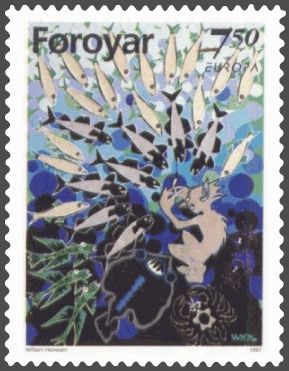 Marmennil - The Little Merman Stamp FR 310 of ...